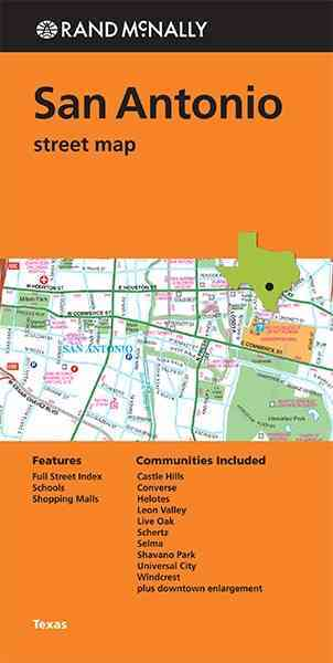 Rand Mcnally San Antonio, Tx Street Map By Rand McNally and Company (COR)